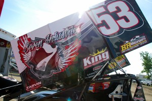 7 Industries Sprint Car Sails into Santa Cruz image