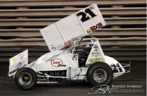 Justyn Cox Captures Second in Knoxville, IA