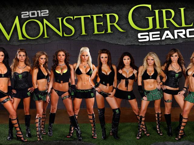 Monster Girls calendar 2012